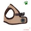 PUPPIA Dog Pet Harness Mesh Lead Dog Vest Harness Beige
