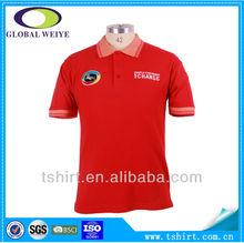 Us custom polo t-shirts100% men cotton shirts polo t-shirt ow