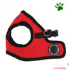 PUPPIA Pet Harness Mesh Lead comfortable dog harness Red