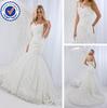 SA7113 One Shoulder Long Train arabic wedding dress made in china