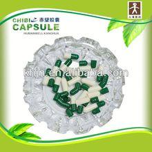 blue pill blue drug blue halal capsules gelatin in Stock