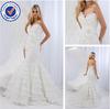 SA7115 New fishtail organza alibaba arabic wedding dress made in china