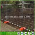 heißer verkauf niedrige preis kunststoff beton provisorischen zaun füße fair