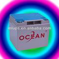 Océan 2 V 3000Ah batterie d'acide de plomb, Exemples des produits manufacturés