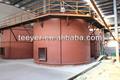Aac bloco de linha de produtos vegetais, aac leve de concreto que faz a máquina, aac bloco de linha de produção