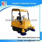 Street electric ride-on sweeper / road cleaner