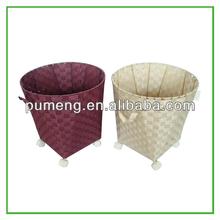 laundry basket with wheels,plastic basket