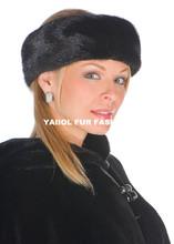 natural fur accessories mink fur headband