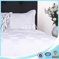 100% algodão branco king size cama de linho