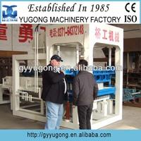 CE certified QT6-15 automatic brick making machine&cement brick block making machine price with good quality