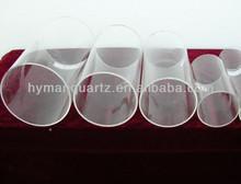 High precision clear short cut quartz tube with good thermal stability,Quartz sleeve
