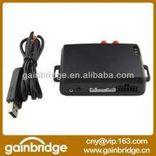 GSM/GPRS/SMS/GPS tracking device for car vehicle support USB program (PC setup), power supply 12V, 24V (9-35V)