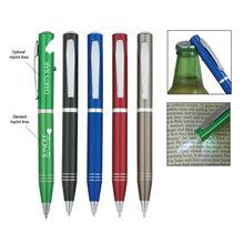 Best Selling Promotional Bottle Opener Cheap Flashlight Pens