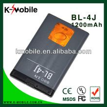 High Capacity 1200Mah Mobile Phone Battery BL-4J For Nokia C6 C6-00