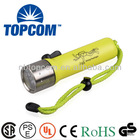 IP68 professional diving equipment underwater cree led diving flashlight