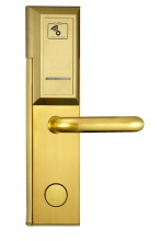 RHM206 RFID smart card international standard digital Hotel door locks/electronic panel door lock bluetooth 4.0 hotel smart lock
