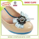 removable shoe jewelry shoe flower crystal rhinestone shoe clips