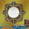 أنيقة على شكل زهرة ديكور المنزل مرآة الحائط عادي