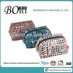 2015 latest fashion promotion cosmetic bag ear bag
