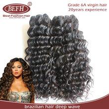 Fahion elegant main lovely hair product darling deep wave 100% brazilian virgin hair