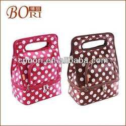 portable fashion cosmetic bag for female dog leash bag