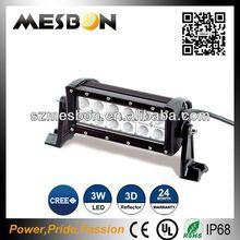 7.5inch 36W high lumen dual row led light bar led 4wd bar rosh