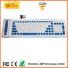 Waterproof 2.4G wireless Keyboard, wireless rollable keyboard, silicone wireless keyboard