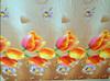 Flowered Print Polar Fleece Fabric, 100 polyester fabric