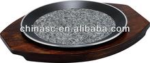 Natural Granite Round pizza pan cupcake pen