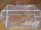 PLASTIC PVC PACKAGING BAG FOR QULITS OR BLANKET