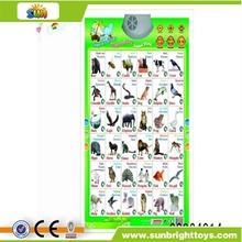turkish language animal sound wall charts