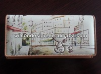 hot selling cartoon wallet/ long purse for ladies