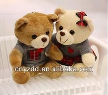 20cm plush teddy bear /20cm T-shirt teddy bear plush stuffed toy