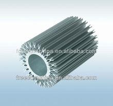 Aluminum extrusion LED light heatsink accessories