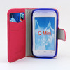 For zte phone accessories Seven color flip leather case cover for ZTE Q MINI