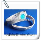 silicone titanium health bracelet
