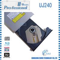 100% Original laptop internal Bluray UJ240 SATA tray-type 12.7mm BD DVD writer
