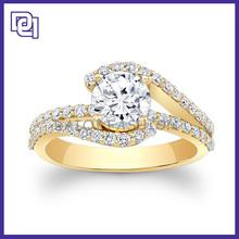 Sweety Female 2 Gram Gold Wedding Ring