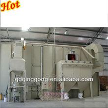 sand blasting room for coal fired steam boiler