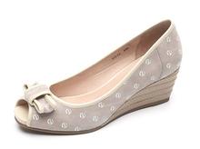 Hot sales girls wedge heel peep toe sandals shoes 2014 fashion ladies wedge shoes wholesale women india lady wedges heel shoes
