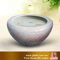 jingdezhen decorativo personalizado cerâmica peixes tanques de transporte
