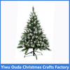 4ft Snow Spray Decorated Sections Christmas Tree