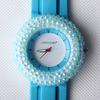 2014 Custom made silicone watch,wrist watch lady