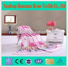 RX-F076-M3 super soft/high quality flannel blanket flanno blanket tv blanket