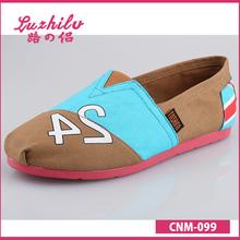 Luzhilv comfortable sole woman canvas shoe