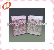 high quality PVC plastic gift bag
