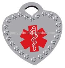 Custom medical dog tag