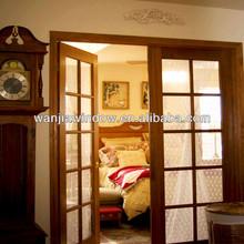 wanjia factory aluminium glass doors bedroom