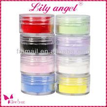 lily angel!! 3D nail acrylic art acrylic powder for beautiful nail art
