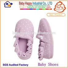 wholesale sheer plush warm soft sole breathable light walking newborn baby organic flat shoes